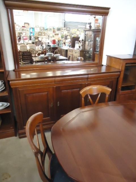 Salle manger merisier discount salle manger merisier for Salle a manger merisier massif